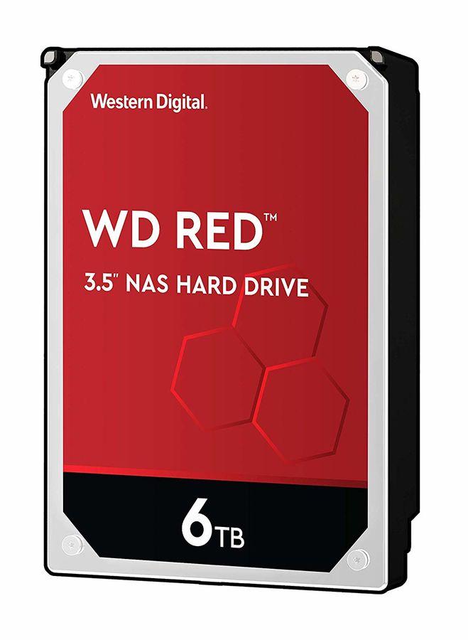 "Жесткий диск WD Red WD60EFAX,  6Тб,  HDD,  SATA III,  3.5"""