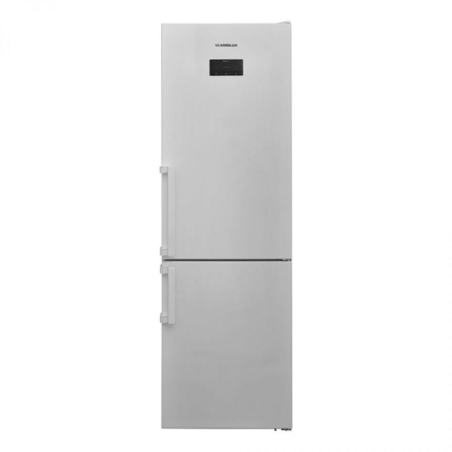 Холодильник SCANDILUX CNF341EZ,  двухкамерный, белый [cnf341ez w]