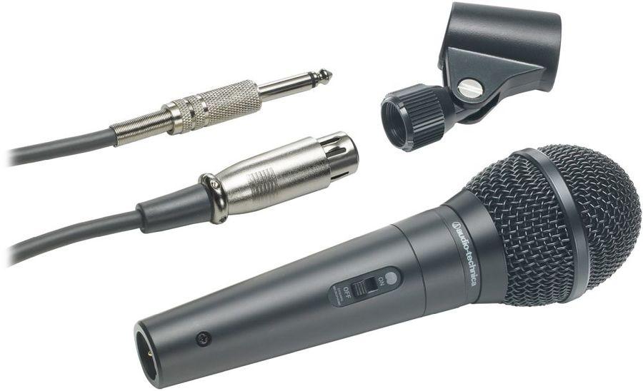 Микрофон AUDIO-TECHNICA ATR1300,  черный [80000122]