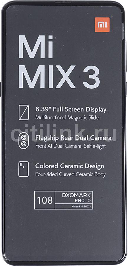 Смартфон XIAOMI Mi Mix 3 6/128Gb,  черный оникс