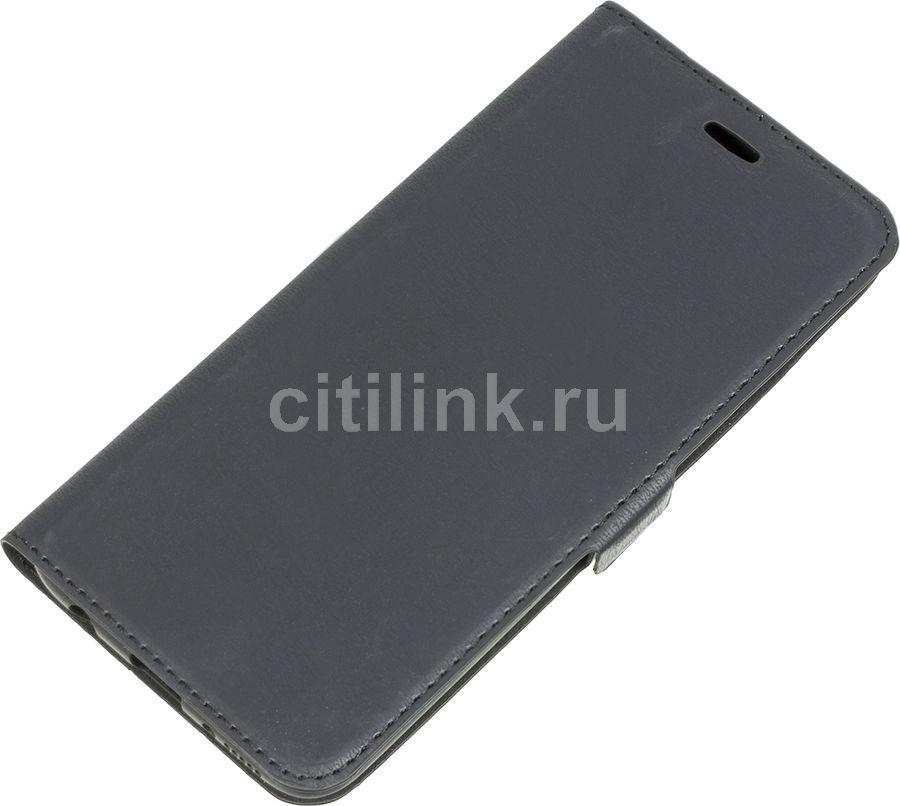Чехол (флип-кейс) DF sFlip-43, для Samsung Galaxy A40, черный [df sflip-43 (black)]