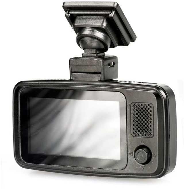 Видеорегистратор TRENDVISION TDR-719 City GPS,  черный