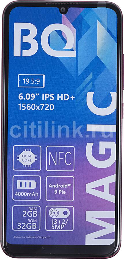 Смартфон BQ Magic 32Gb,  6040L,  красный