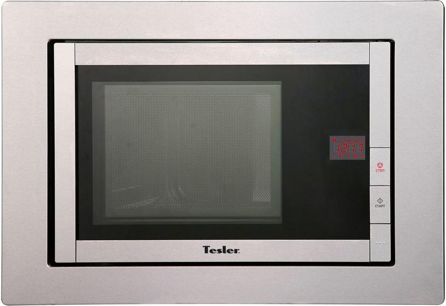 Микроволновая Печь Tesler MEB-2070 X 20л. 800Вт нержавеющая сталь (встраиваемая)