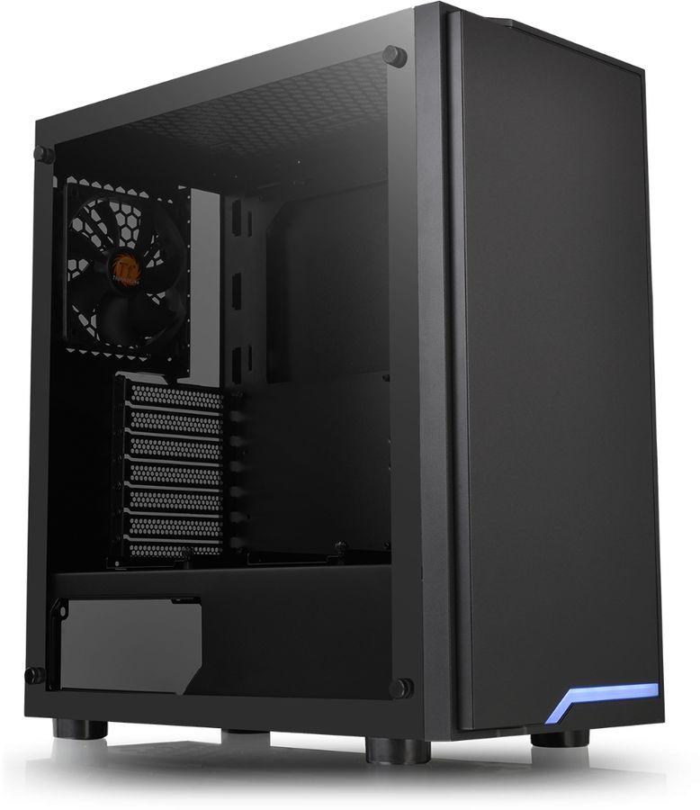 Купить Корпус ATX THERMALTAKE H100 TG,  черный в интернет-магазине СИТИЛИНК, цена на Корпус ATX THERMALTAKE H100 TG,  черный (1148177) - Челябинск