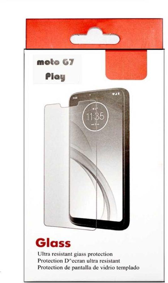 Защитное стекло для экрана MOTOROLA для Motorola G7 Play,  прозрачная, 1 шт [zs-mermotog7play]