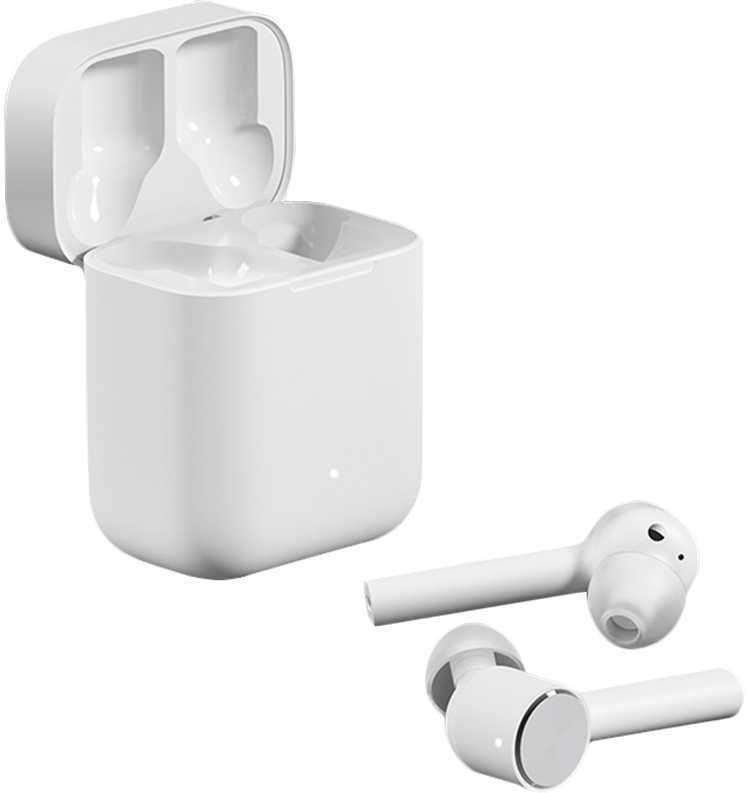 Наушники с микрофоном XIAOMI AirDots Pro Mi True Wireless, Bluetooth, вкладыши, белый [zbw4485gl]