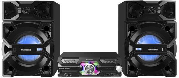 Музыкальный центр PANASONIC SC-MAX3500GS,  черный