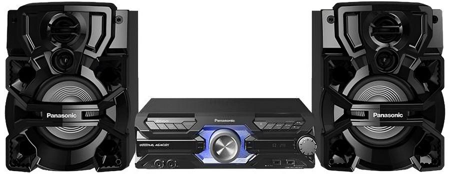 Музыкальный центр PANASONIC SC-AKX710GSK,  черный
