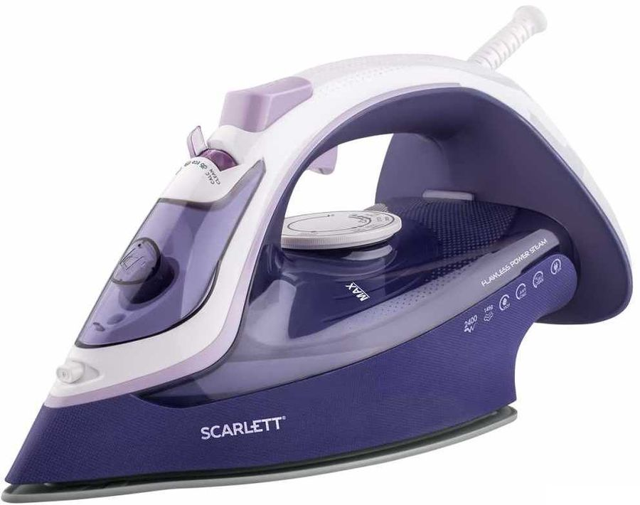Утюг SCARLETT SC-SI30K37,  2400Вт,  фиолетовый