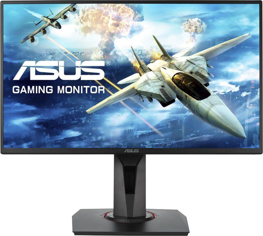 """Монитор игровой ASUS VG258QR 24.5"""" черный [90lm0453-b01370]"""
