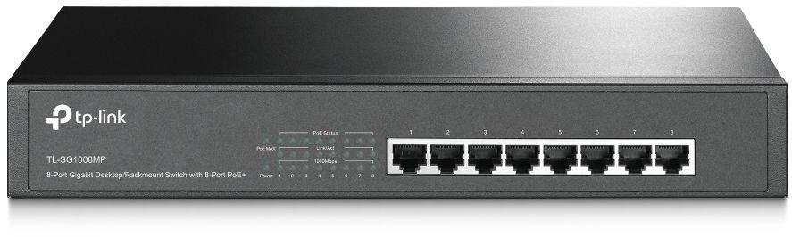 Коммутатор TP-LINK TL-SG1008MP, TL-SG1008MP