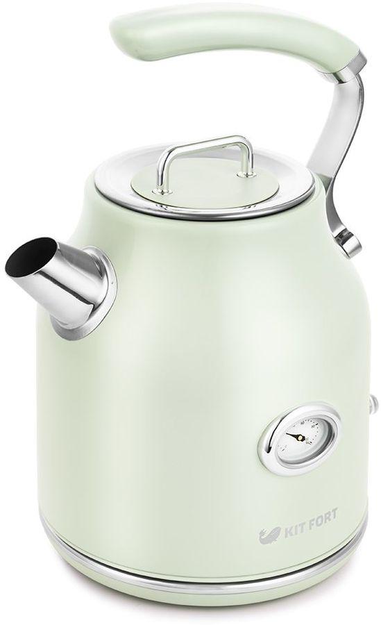 Чайник электрический KITFORT КТ-663-4, 2200Вт, мятный