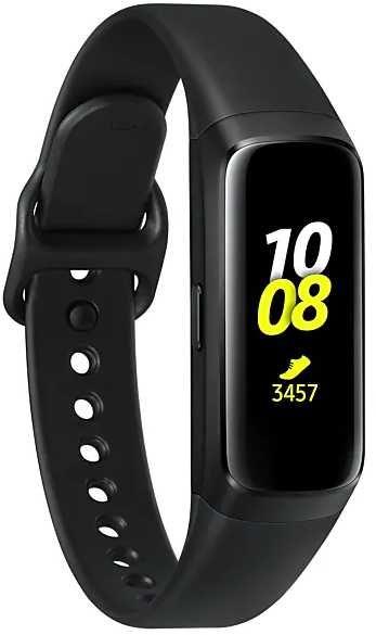 """Смарт-часы SAMSUNG Galaxy Fit,  0.95"""",  черный / черный [sm-r370nzkaser]"""