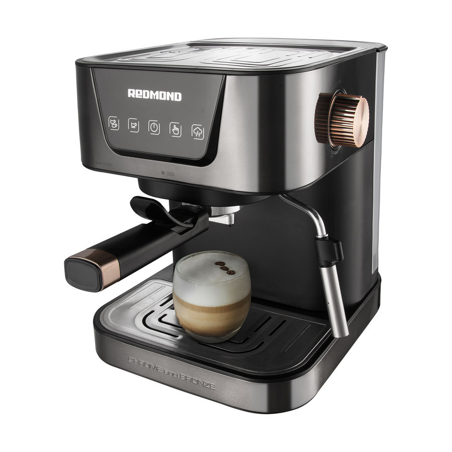 Кофеварка REDMOND RCM-CBM1514,  эспрессо,  бронзовый