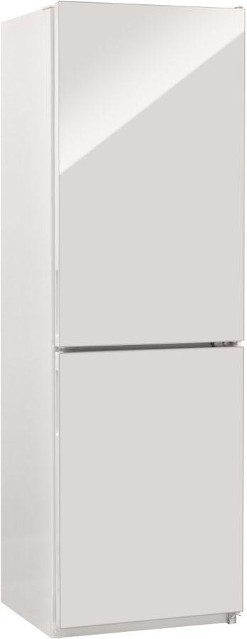 Холодильник NORDFROST NRG 119NF 042,  двухкамерный, белое стекло [00000256620]