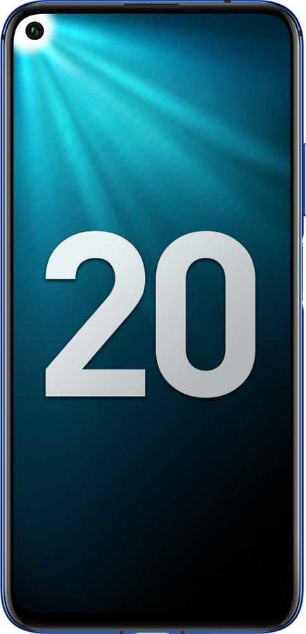 Смартфон HONOR 20 128Gb,  сапфировый синий
