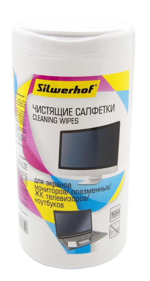 Влажные салфетки SILWERHOF 671214 , красный