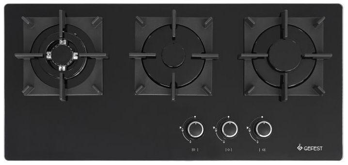 Варочная панель GEFEST ПВГ 2150-01,  независимая,  черный