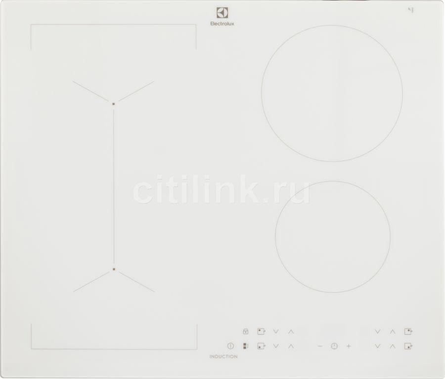 Индукционная варочная панель ELECTROLUX IPE6443WFV,  индукционная,  независимая,  белый