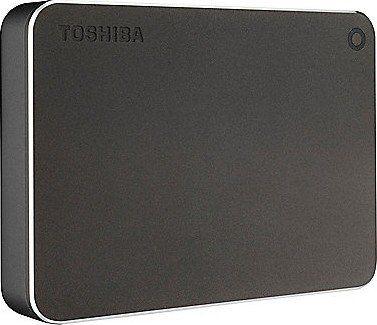 Внешний жесткий диск TOSHIBA Canvio Premium HDTW240EB3CA, 4Тб, темно-серый