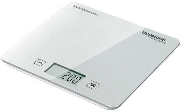 Весы кухонные REDMOND RS-724-E,  белый