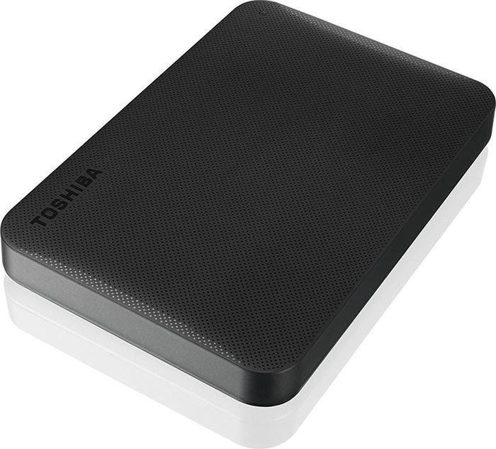 Внешний жесткий диск TOSHIBA Canvio Ready HDTP240EK3CA, 4Тб, черный