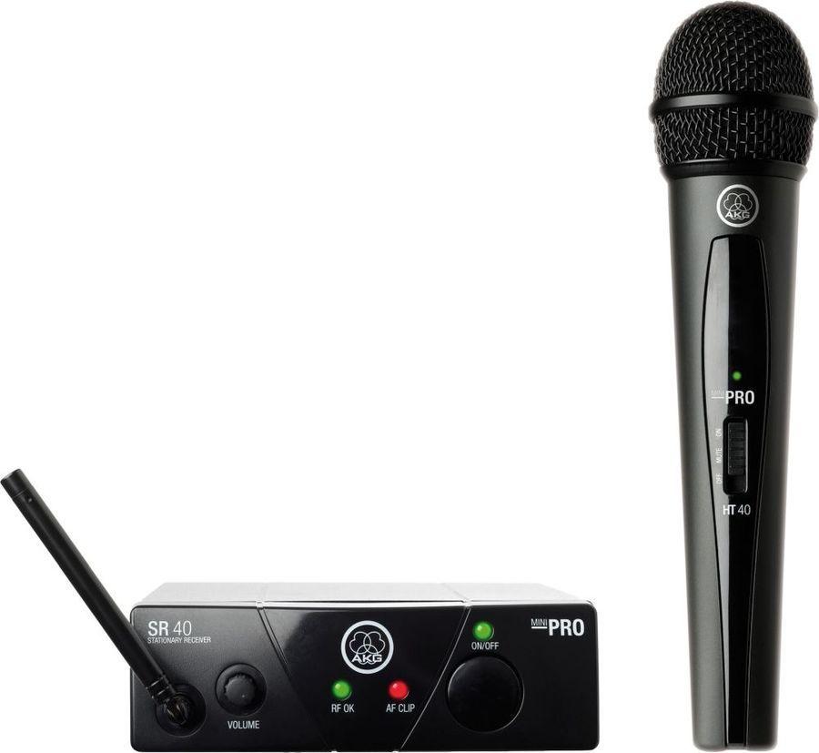 Радиосистема AKG WMS40 Mini Vocal Set BD US25A беспровод. черный