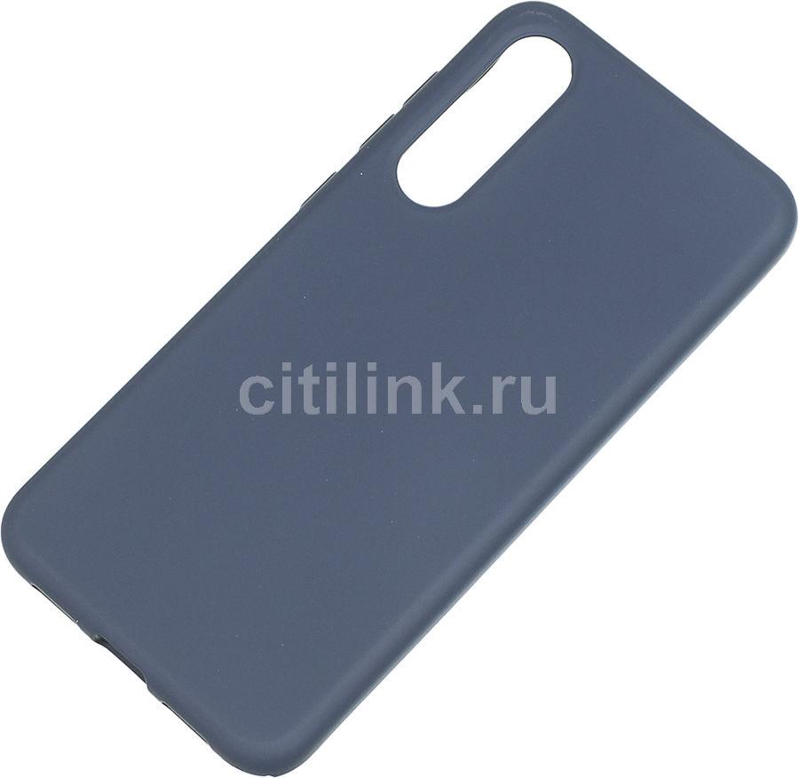 Чехол (клип-кейс) BORASCO Hard Case, для Xiaomi Mi 9 SE, синий [36819]