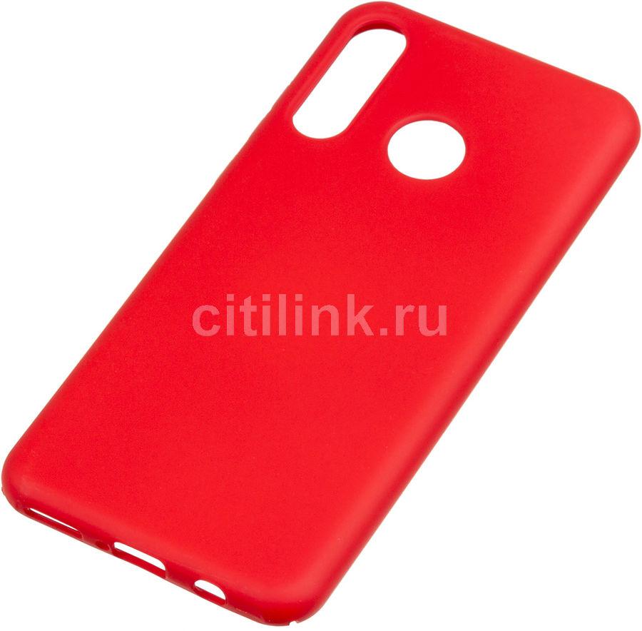 Чехол (клип-кейс) BORASCO Hard Case, для Huawei P30 Lite/Honor 20s/20 Lite, красный [36748]