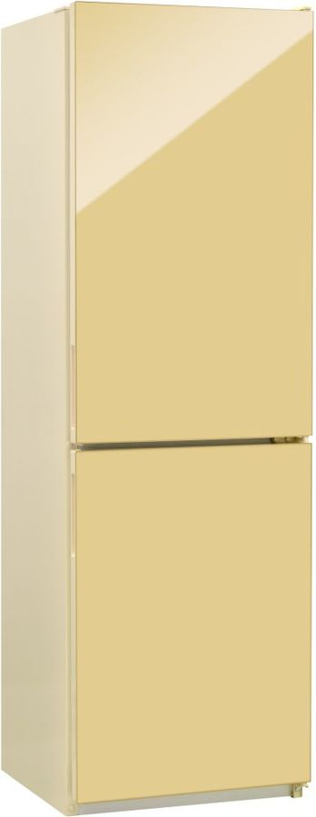 Холодильник NORDFROST NRG 119NF 742,  двухкамерный, бежевый стекло [00000256632]