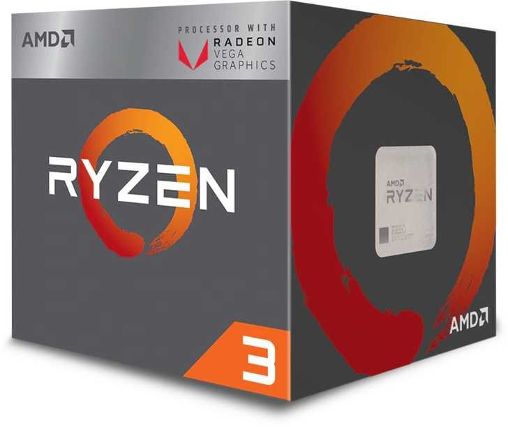 Процессор AMD Ryzen 3 3200G, SocketAM4,  BOX [yd3200c5fhbox]