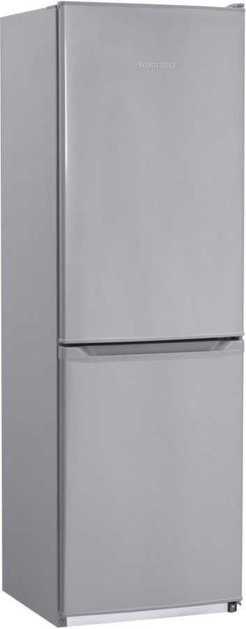 Холодильник NORDFROST NRB 119NF 332,  двухкамерный, серебристый [00000256559]