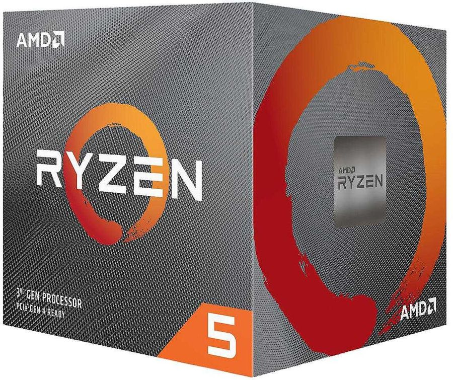 Процессор AMD Ryzen 5 3600X, SocketAM4,  BOX [100-100000022box]