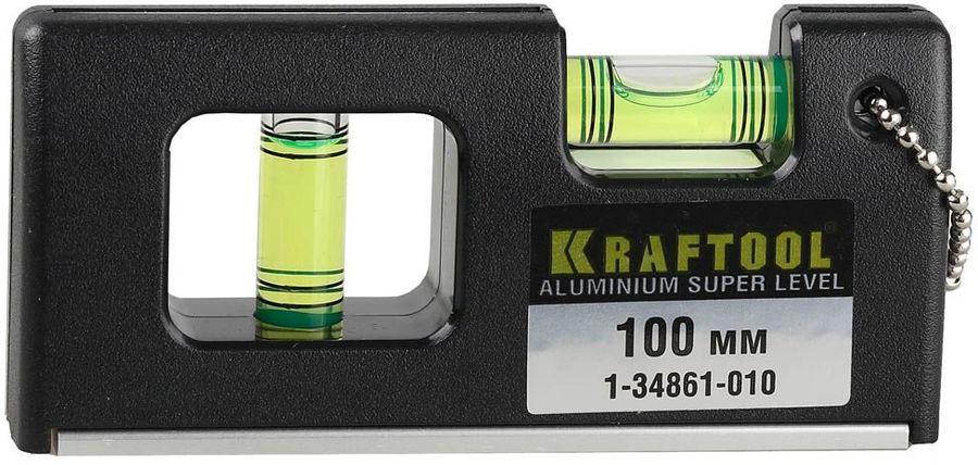 Пузырьковый уровень KRAFTOOL 1-34861-010
