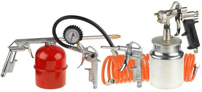 Набор пневмоинструментов STAYER 06487-H5,  5 предметов