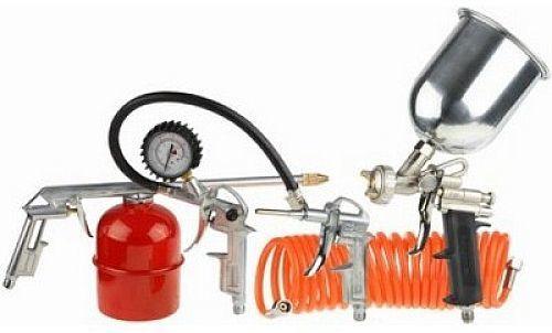 Набор пневмоинструментов STAYER 06488-H5,  5 предметов