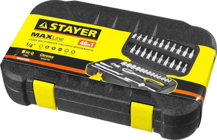 Набор инструментов STAYER 27760-H46,  46 предметов
