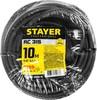 Удлинитель силовой Stayer 55026-10 3x1.5кв.мм 1розет. 10м КГ без катушки черный вид 7