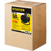 Удлинитель силовой Stayer 55077-50 3x1.5кв.мм 4розет. 50м КГ катушка черный вид 5