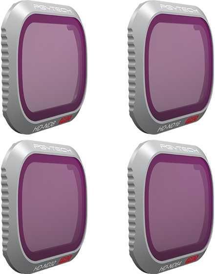 Набор фильтров для квадрокоптера Pgytech ND8 16 32 64 P-HAH-031 для DJI Mavic 2 Pro