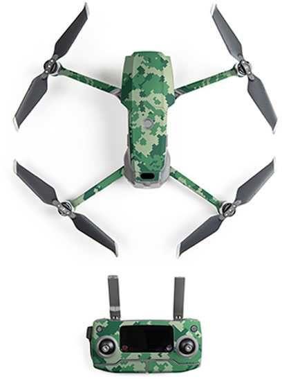 Набор наклеек для квадрокоптера Pgytech P-HA-052 для DJI Mavic 2 Pro/DJI Mavic 2 Zoom