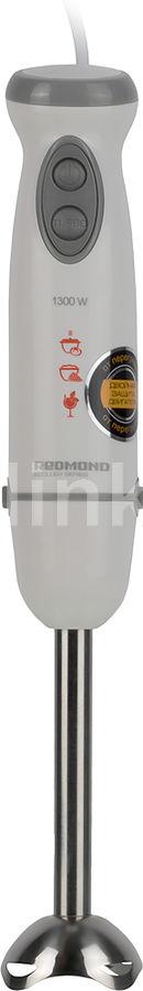 Блендер REDMOND RHB-2967,  погружной,  белый/серебристый