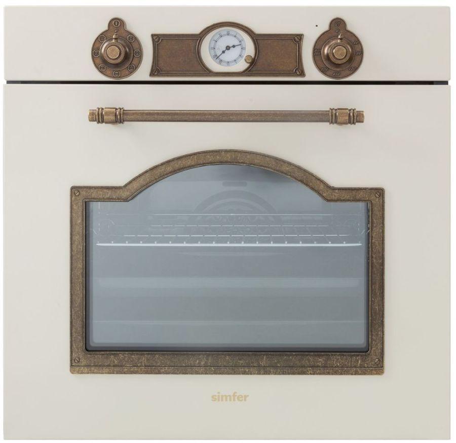 Духовой шкаф SIMFER B 6EQ 78017,  бежевый