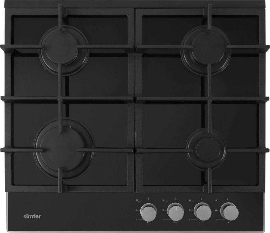 Варочная панель SIMFER H60H40S412,  независимая,  черный