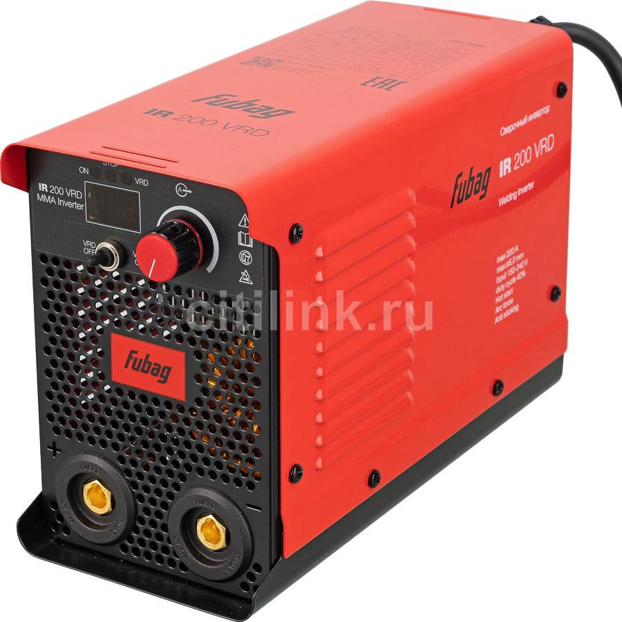 Сварочный аппарат инвертор FUBAG IR 200 VRD [38900]