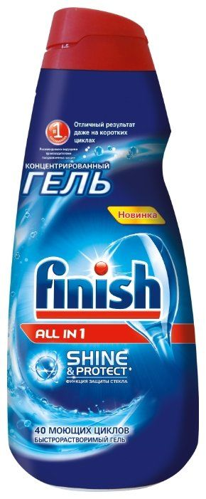 Гель FINISH All in 1,  для посудомоечных машин,  1000мл [3007344]