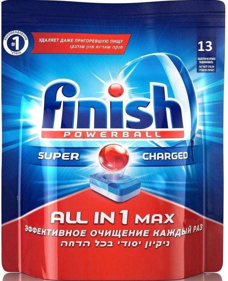 Таблетки FINISH All in 1 Max,  для посудомоечных машин,  13 [3018745]