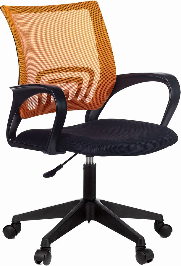 Кресло БЮРОКРАТ CH 696, на колесиках, ткань, черный [ch 696 #or]
