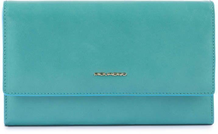 Клатч женский Piquadro Blue Square AC4707B2R/AM2 бирюзовый натур.кожа